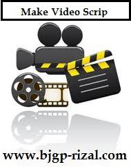 Contoh Scrip Pembuatan Dokumentasi Video