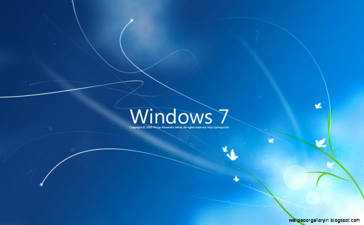 Free Windows 7 Wallpapers Set Background 13712 Wallpaper