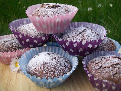 Cokoladovo-jogurtove muffiny