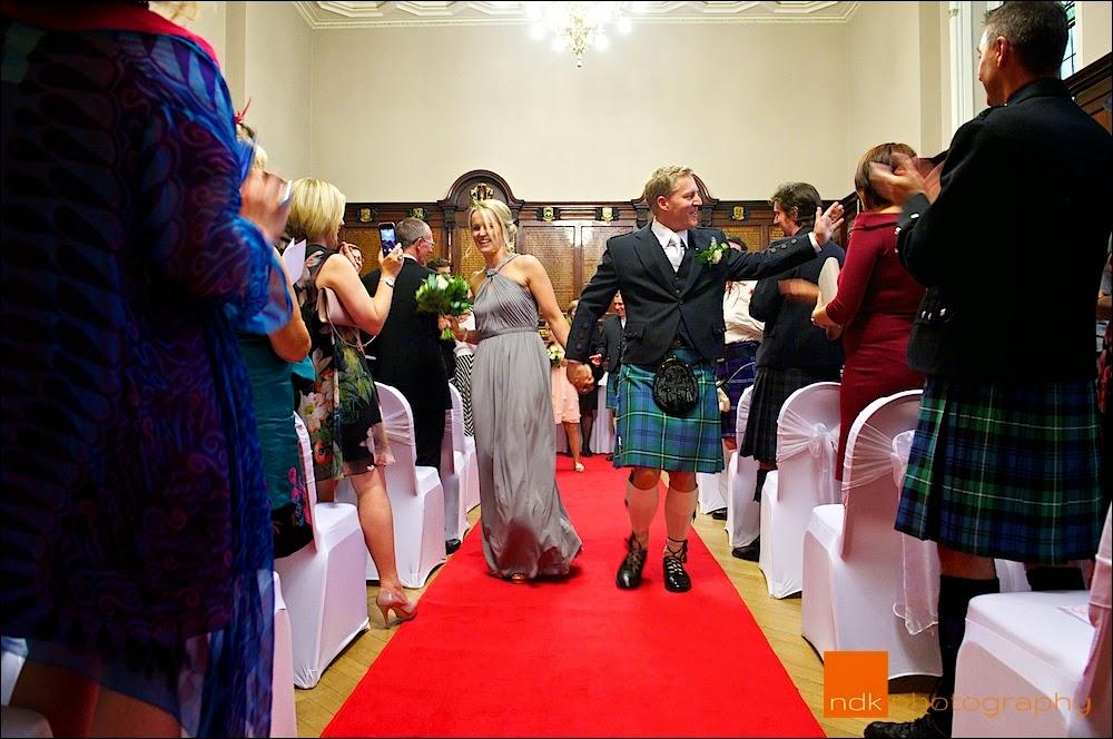 The Trades Hall Glasgow Wedding Photography
