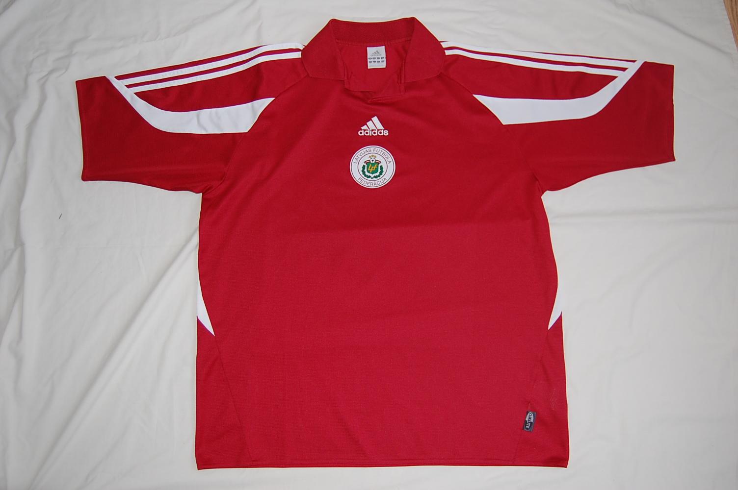 Latvian Football Shirt Latvian Shirts Are