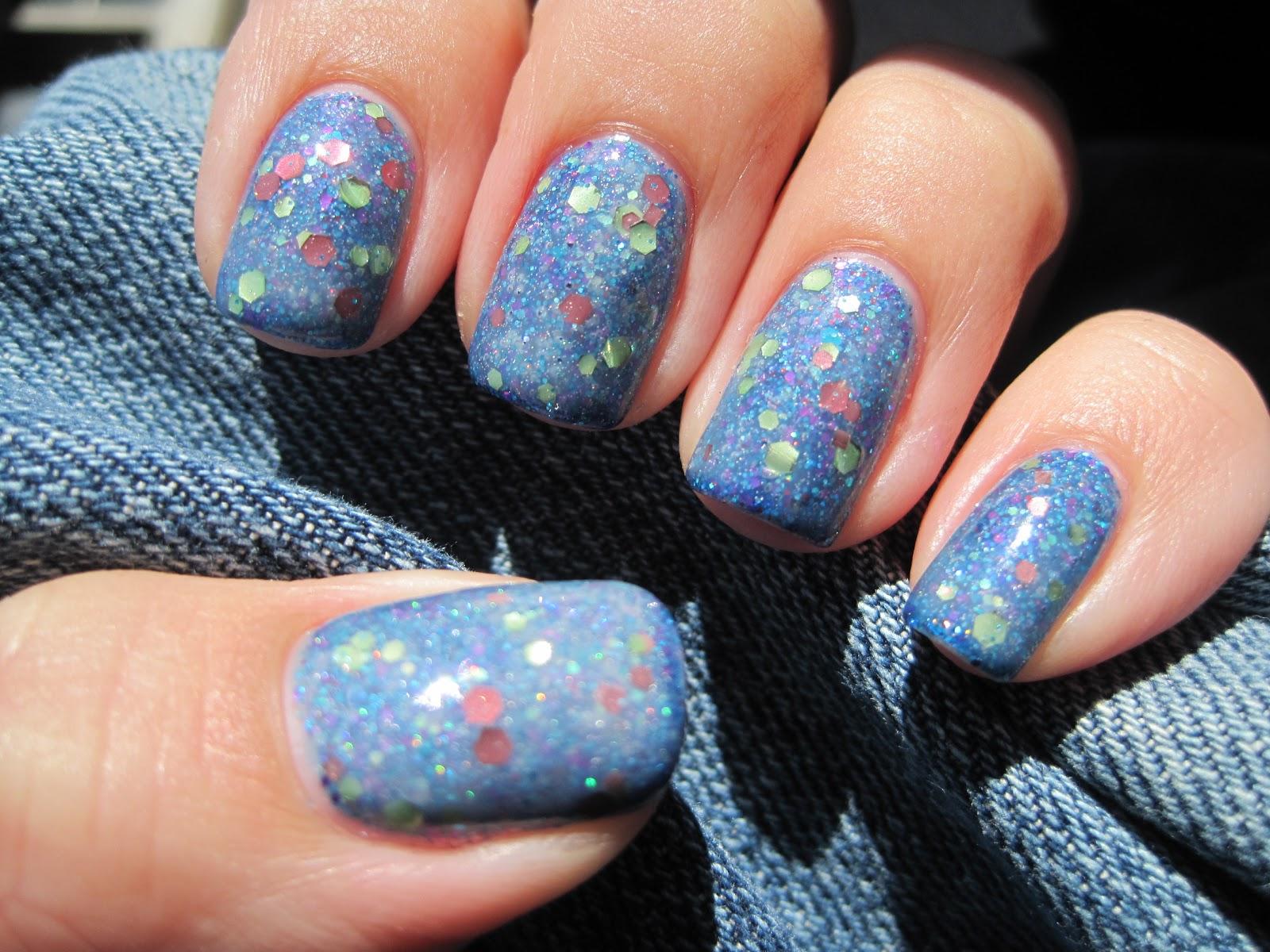 Sparkly Vernis: Emily de Molly Milky Way over Pahlish Train ...