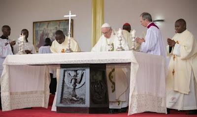 pope francis state visit kenya