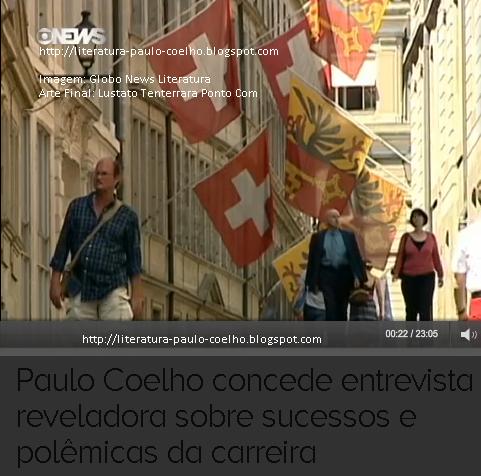 Vista do centro comercial de Genebra, na Suíça, por ocasião das filmagens do Globo News Literatura