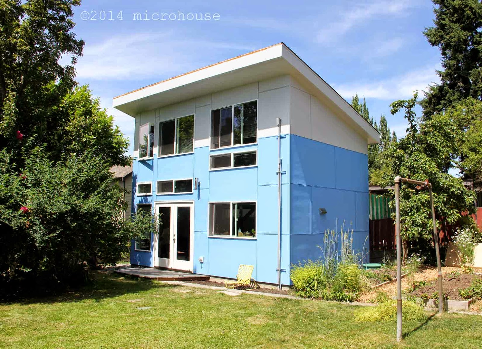 backyard cottage, microhouse, dadu