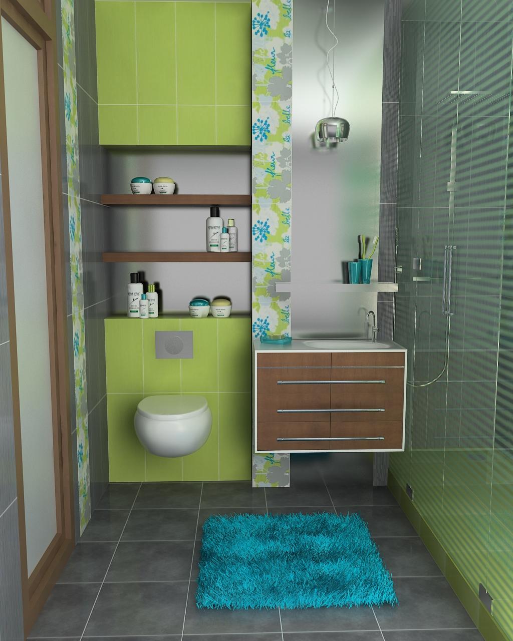 Soluzioni arredamento bagno piccolo for Piastrelle bagno piccolo