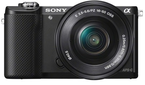 Paytm: Buy Sony ILCE-5000L (With SELP1650 Lens) 20.1 MP DSLR Camera and Rs. 5000 Casbback at Rs. 31345