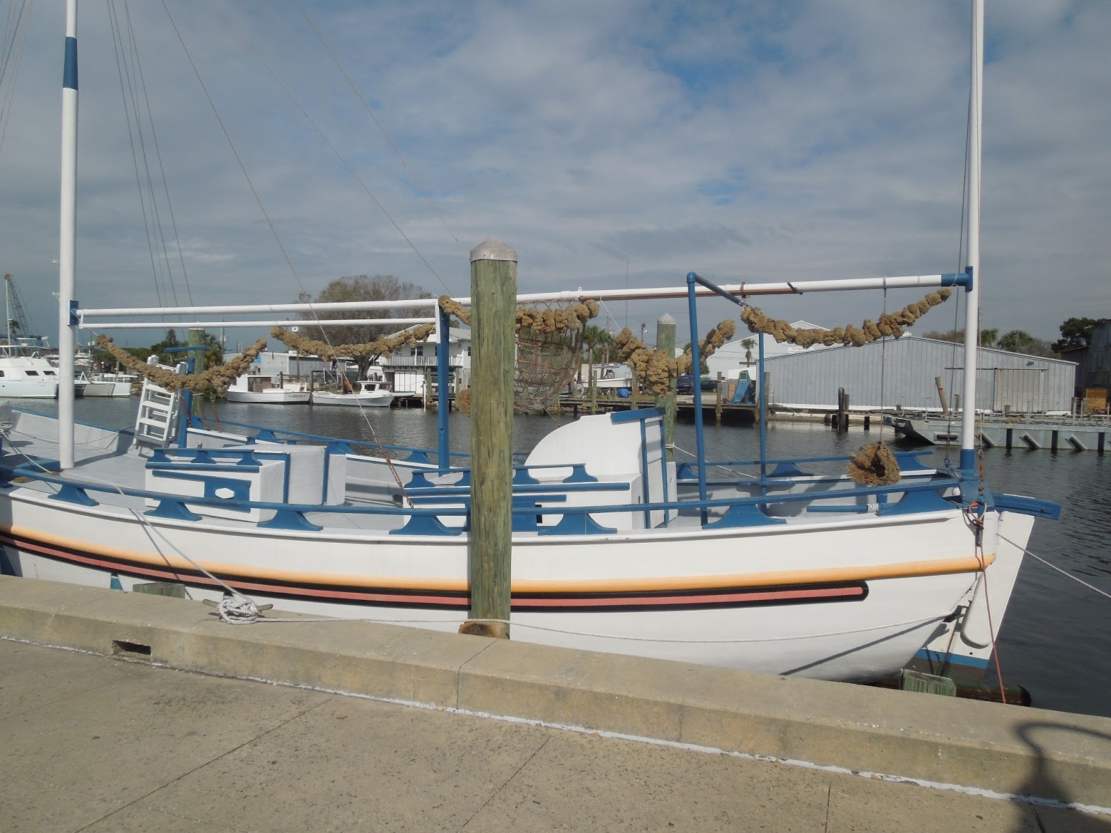 Florida 2013 tarpon springs greek sponge fishing community for Tarpon springs fishing