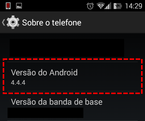 Android - Versão