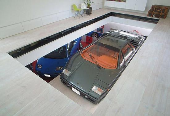 Residential Car Lift 9 Garage