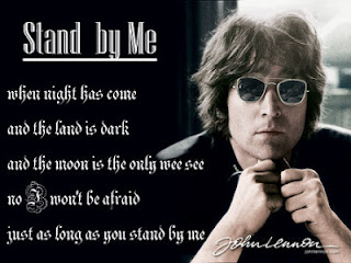 letra de cancion stand by me:
