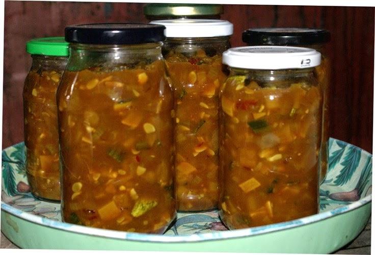 Chilli Courgette Pickle