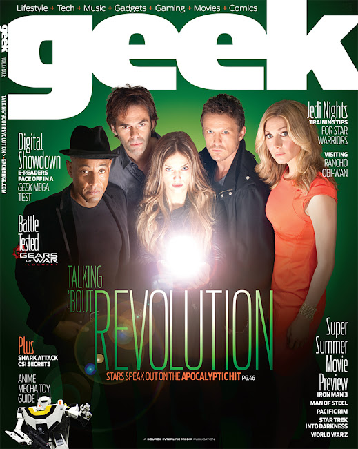 Geek Magazine Cover of Revolution