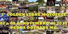 Pedra Dourada-MG (07 à 09 de Novembro)