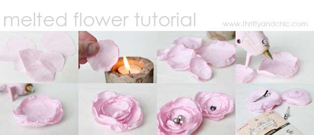 Melted Flower Tutorial