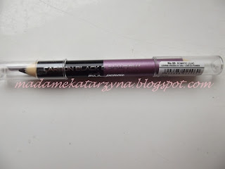 Romatic Lilac czyli 2 w 1 kredka pierre rene recenzja♥
