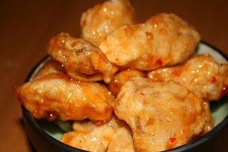 Pollo a la miel
