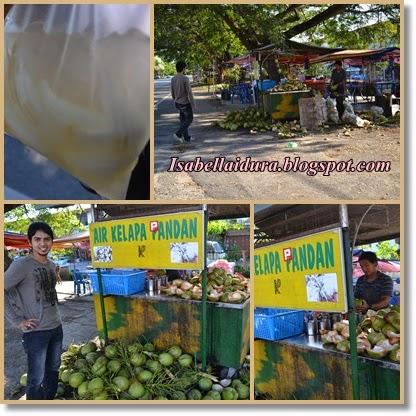 Air kelapa pandan terbaik