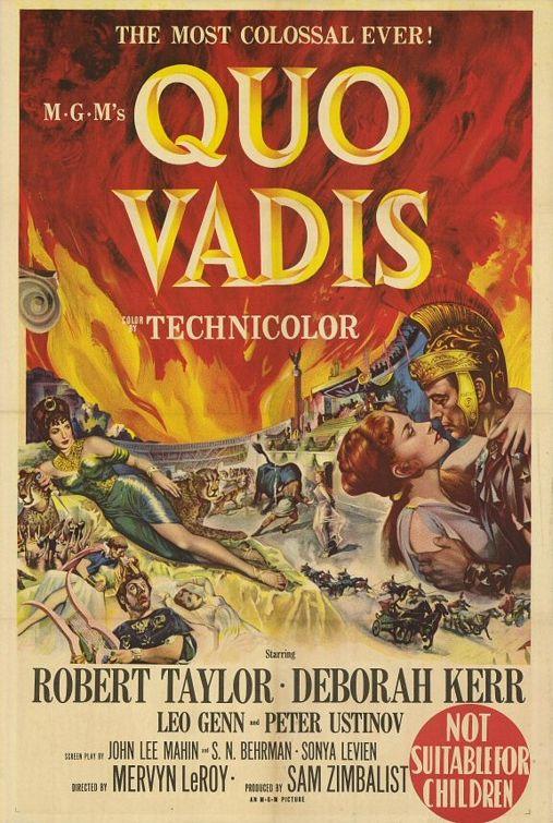 Oscar 1952: Quo Vadis