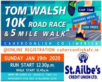 10k in Cahercanlish, Limerick - Sun 19th Jan 2020