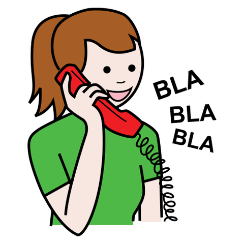Hablar Por Telefono Clipart Redaccion: proceso comunicativo