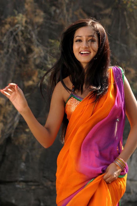 shanvi spicy galley in saree actress pics