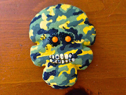 Camouflage Zombie Cookie