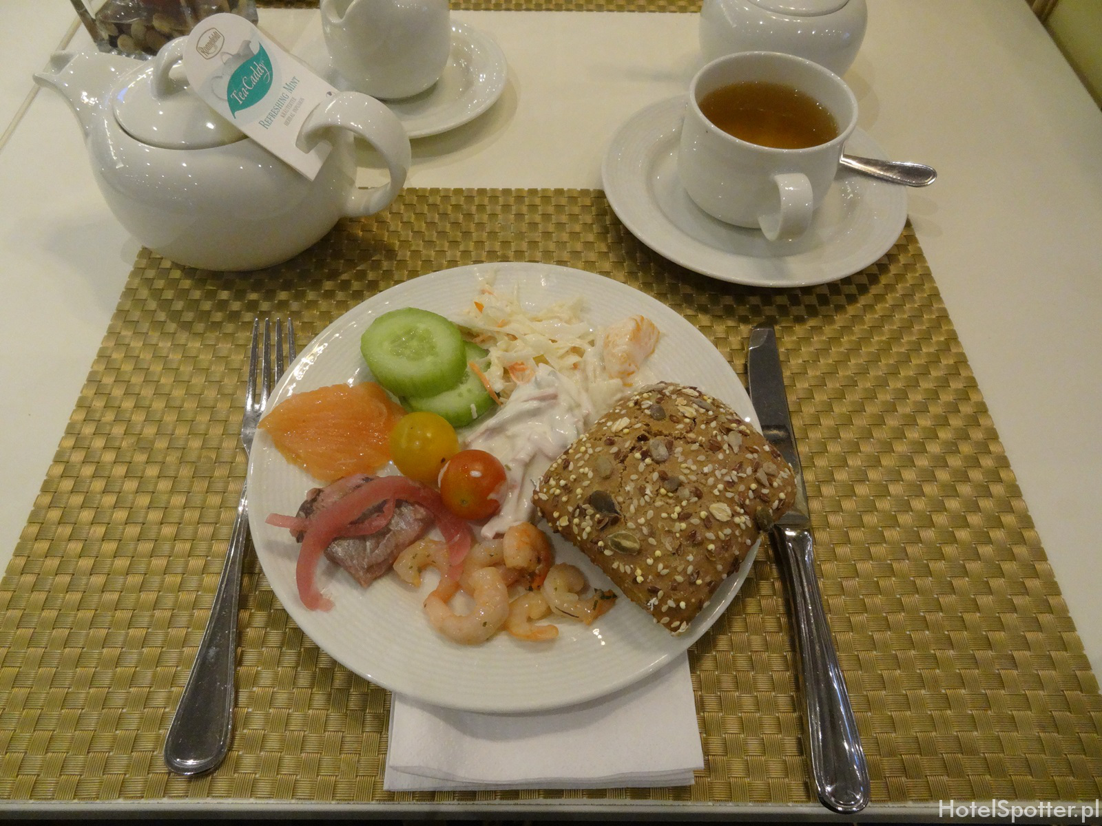 Maritim Hotel Berlin - sniadanie light breakfast