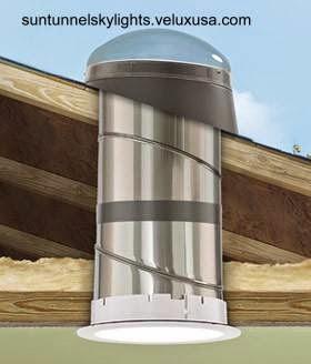 Tubo de luz solar para interiores