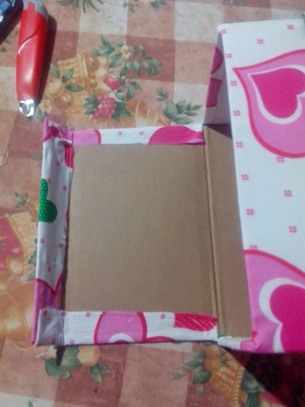 Manualidades cajas forradas con telas paso a paso for Manualidades con tela paso a paso