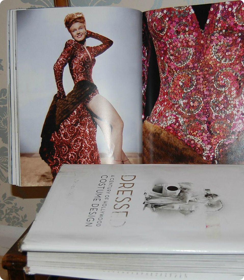 This double page spread features Liza Elliot (Ginger Rodgers) from Lady in the Dark (1994). The costume designer was Edith Head a renowned legend in the ... & Second Hand Still Grand: Barg of the Week: Costume Design Books