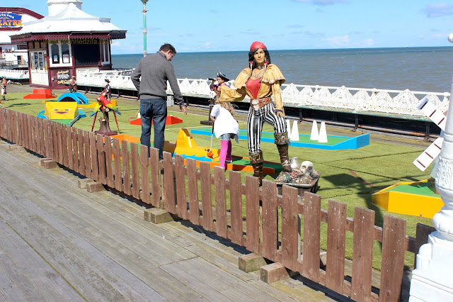 Blackpool North Pier and Sea Play Area