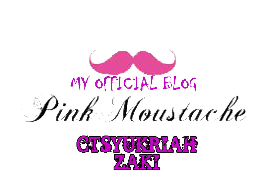 Pink Moustache ^_^v