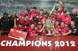 Sydney Sixers - Champion 2012