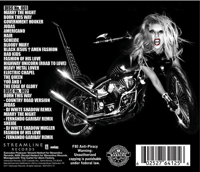 lady gaga born this way deluxe edition album artwork. lady gaga born this way deluxe