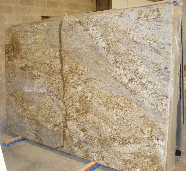 Golden River Granite Kitchen: Yellow River Granite Countertop Pictures
