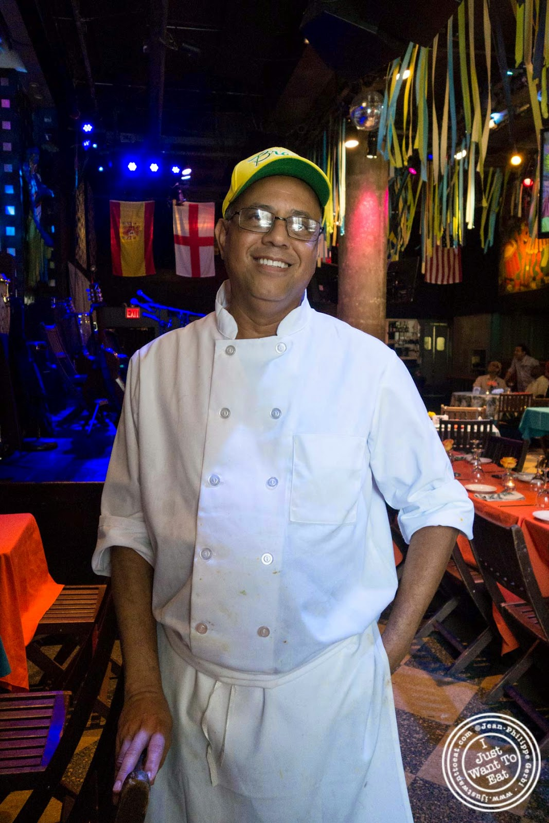 image of Chef Jorge Lima at Sounds Of Brazil SOB's in NY, New York