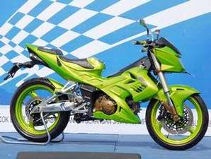 READ MORE - Gambar Modifiksasi Satria dengan Full Sroks
