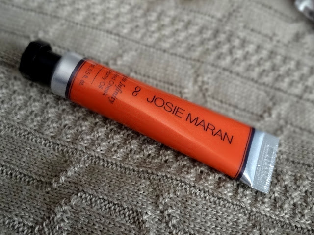 Josie Maran Argan Infinity Lip and Cheek Creamy Oil in Timeless Coral