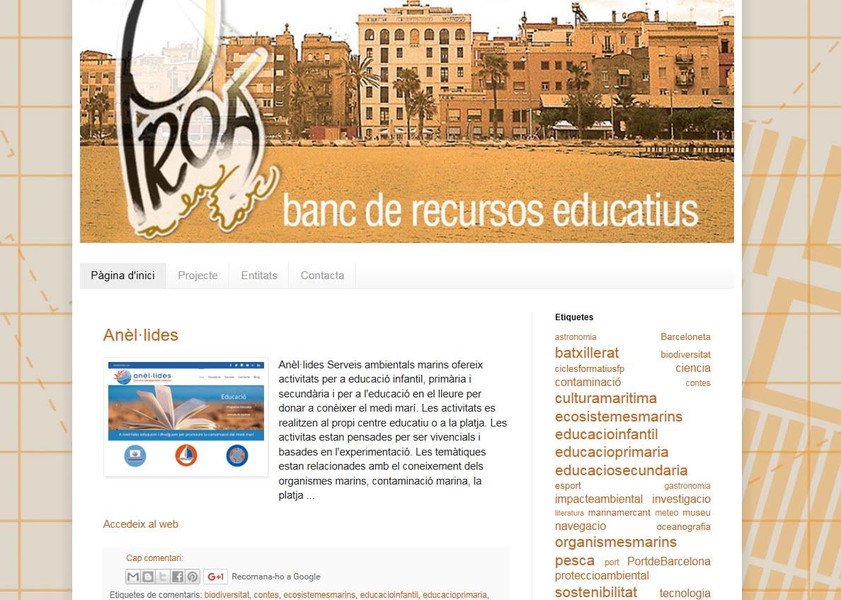 Banc de recursos educatius