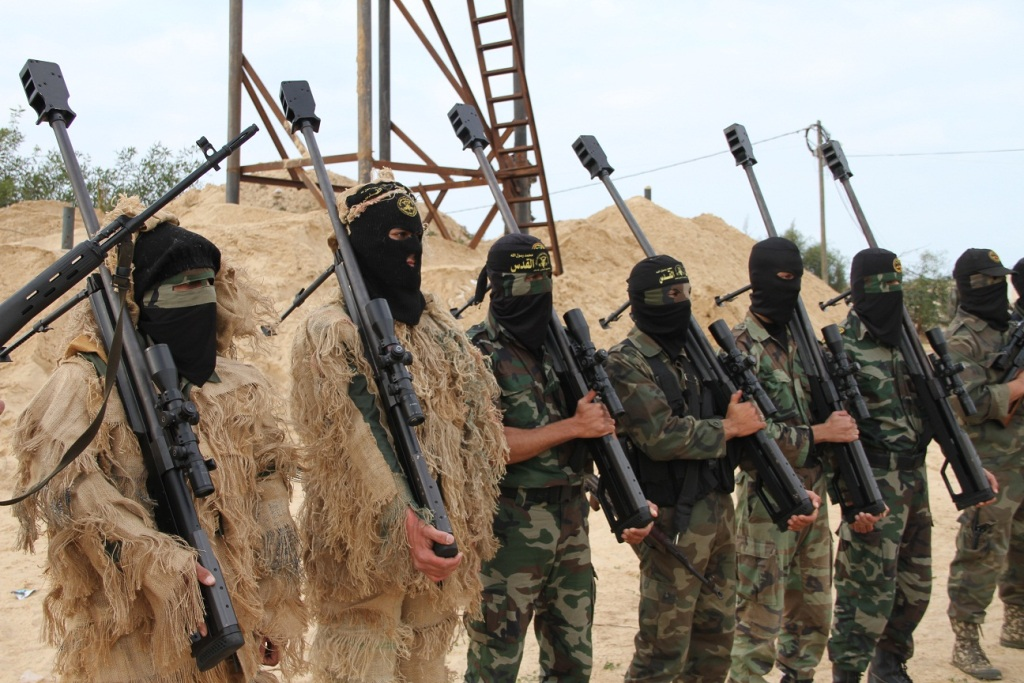 Kumpulan Foto Unit Brigade Al Qassam Paling di Takuti Israel