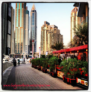 Around Dubai Marina Walk