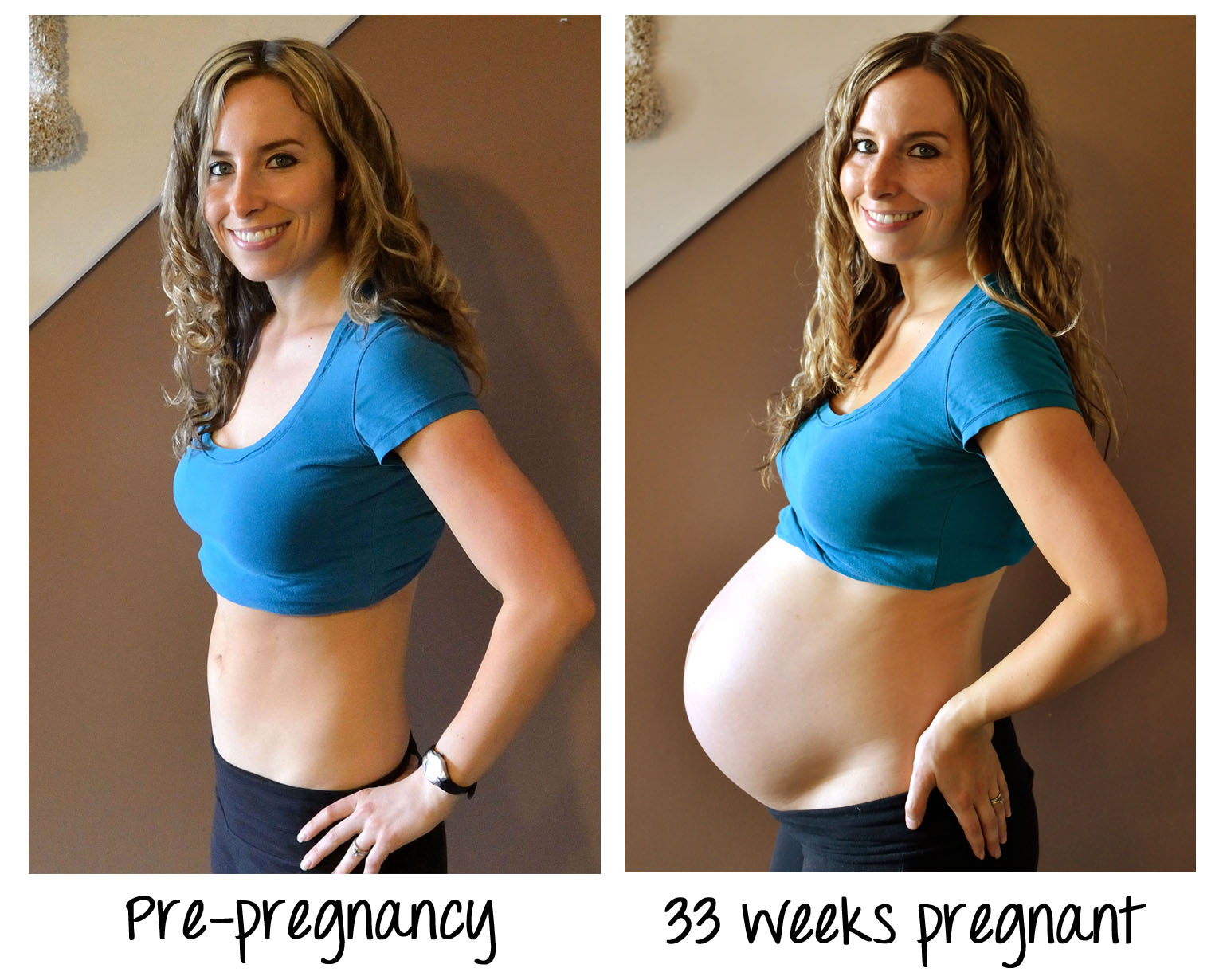 Tips on finding peace in pregnancy weight gain
