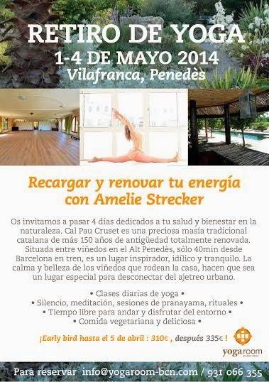 RETIRO DE YOGA MAYO 1-4
