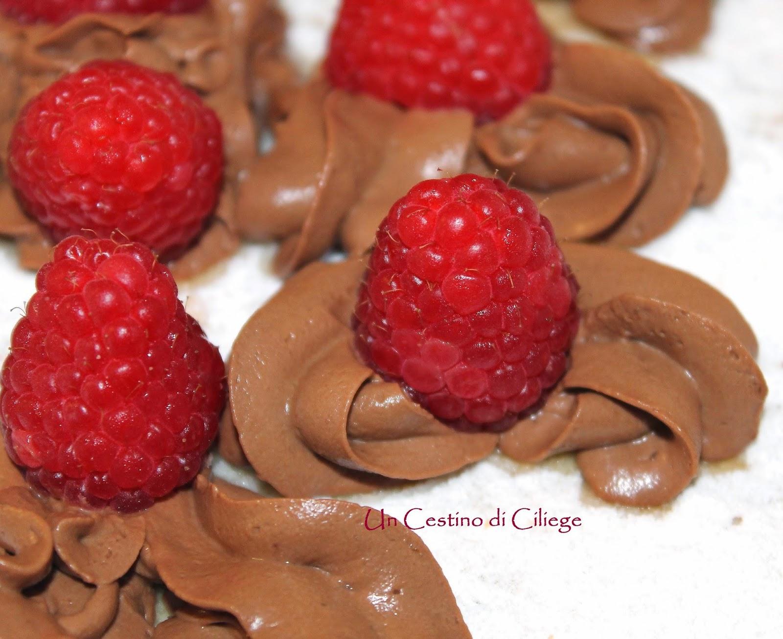millefoglie al cioccolato e lamponi!