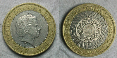 england 2 pounds