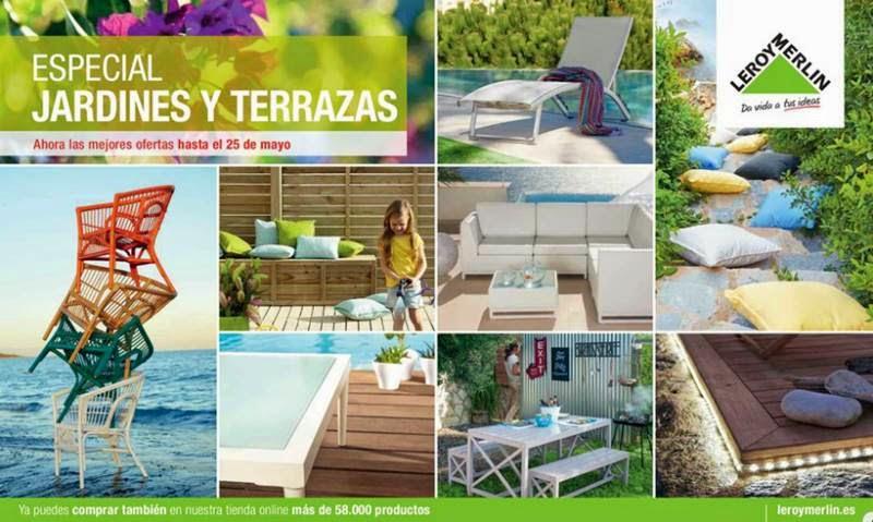 Leroy merlin especial jardines y terrazas 2015 for Muebles leroy merlin catalogo