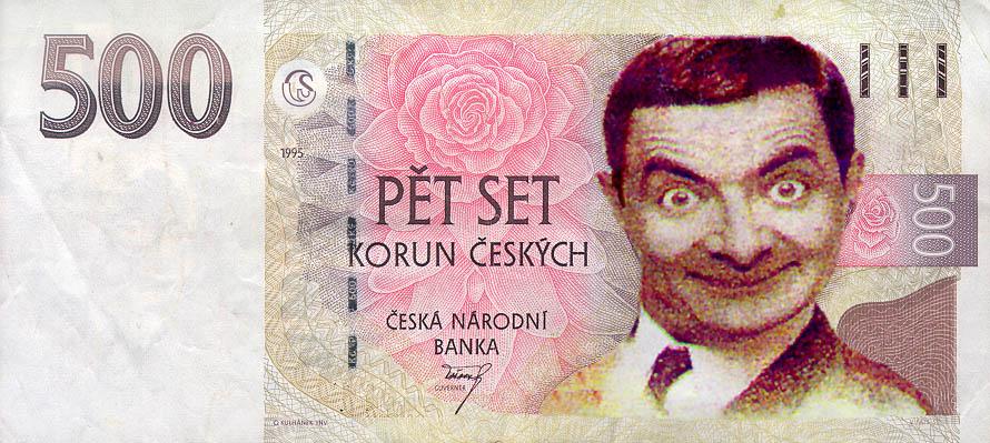 Изображение к теме про МММ - деньги и Мистер Бин