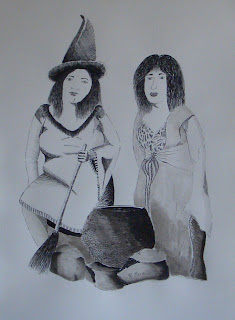 ink,tinta,bruixes,witch,witches,dibuix,drawing,rmora,roger mora