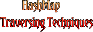 HashMap Traversing Techinques